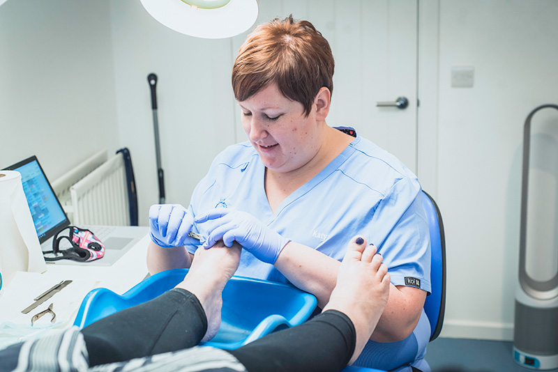 Podiatry At The Foot Clinic Aylesbury
